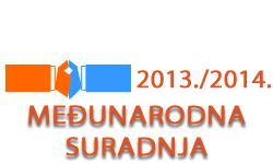 Međunarodna suradnja u ak. god. 2013./2014.