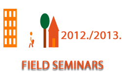 Field seminars in the academic year 2012/2013