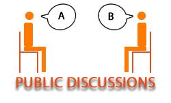 Public discussions