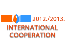 International cooperation in the academic year 2012/2013