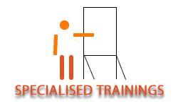 Specialised trainings