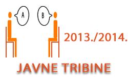 Javne tribine u ak. god. 2013./2014.